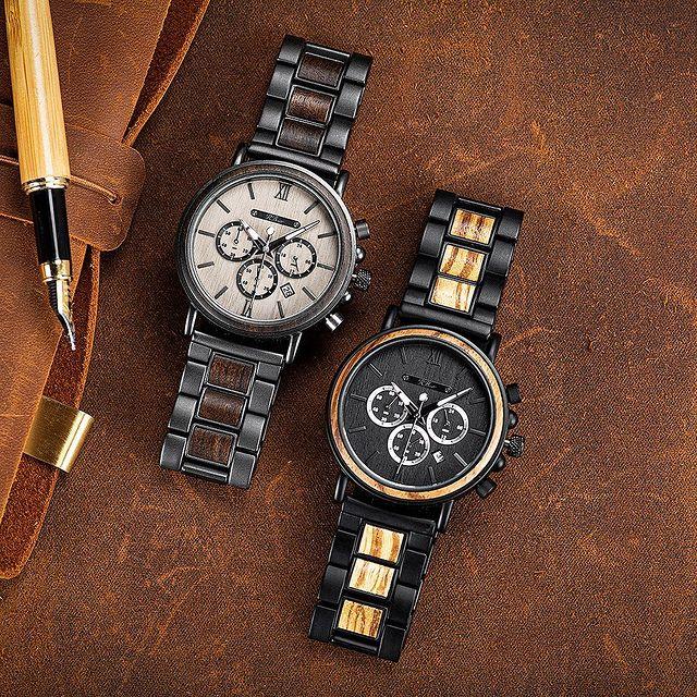 R. Burnett Brand Wooden Watches