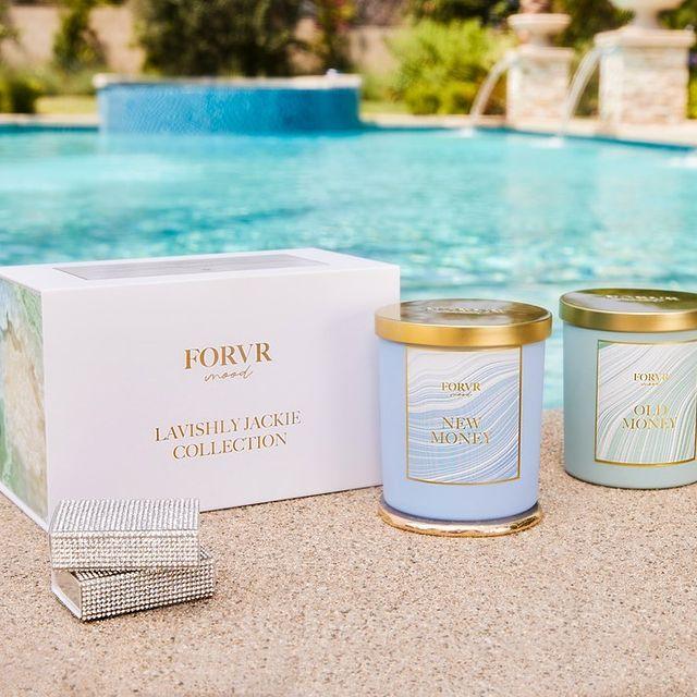 Lavishly Jackie candle gift set from Forvr Mood