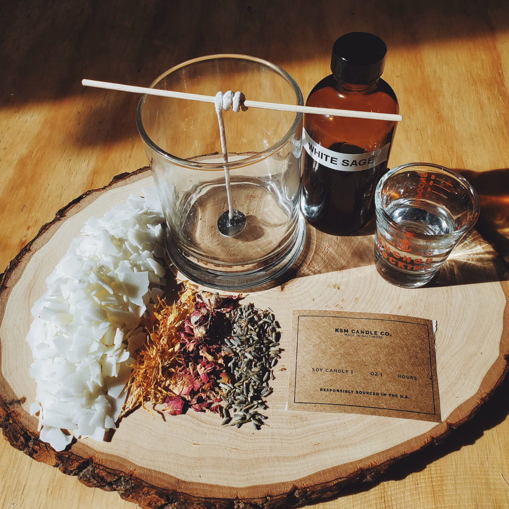Soy Candle making kit from KSM Candle Co.