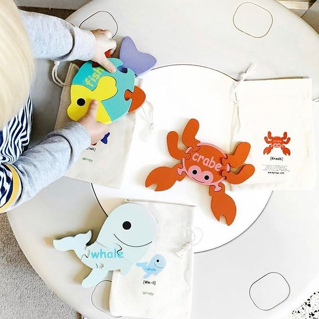 Wordy toys animals